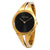 Calvin Klein Addict Black Dial Gold-tone Ladies Watch K7W2S511
