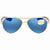 Costa Del Mar Loreto Blue Mirror 580P Aviator Sunglasses LR 64 OBMP