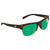 Costa Del Mar Pawleys Green Mirror Polarized Plastic Large Fit Sunglasses PW 66 OGMP