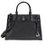 Michael Kors Gramercy Large Pebbled Leather Satchel - Black