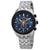 Citizen Brycen Perpetual Chronograph Blue Dial Mens Watch BL5568-54L