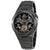 Bulova Classic Automatic Gunmetal Skeleton Dial Mens Watch 98A179