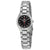 Seiko 5 Automatic Black Dial Stainless Steel Ladies Watch SYMC27