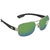 Costa Del Mar Cocos Green Mirror Polarized Plastic Aviator Sunglasses CC 21 OGMP