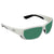 Costa Del Mar Tuna Alley Green Mirror Polarized Glass Rectangular Sunglasses TA 25 OGMGLP