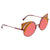 Fendi Burgundy Gradient Cat Eye Sunglasses FF0215/S 00L9 53