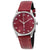 Gucci G-Timeless Red Mother of Pearl Dial Ladies Watch YA126584