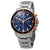 Bulova Marine Star Chronograph Blue Dial Mens Watch 98B301