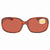 Costa Del Mar Riverton Copper Rectangular Sunglasses RVT 10 OCP