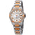 Bulova Marine Star Diamond White Mother of Pearl Dial Ladies Watch 98R234