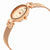 Anne Klein Rose Dial Swarovski Crystals Ladies Watch 3002RGRG