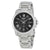 Seiko Premier Black Dial Solar Mens Watch SNE455