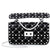 Valentino Rockstud Spike Small Shoulder Bag- Black