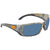 Costa Del Mar Blackfin Gray Polarized Rectangular Sunglasses BL 69 OGP