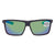 Costa Del Mar Polarized Green Mirror (580) Rectangular Sunglasses RIC 98 OGMGLP