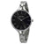 Calvin Klein Graphic Black Dial Ladies Bangle Watch K7E23141