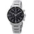 Bulova Marine Star Chronograph Black Dial Mens Watch 96B272