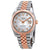 Rolex Datejust Automatic Diamond Mens Steel and 18ct Everose Gold Jubilee Watch 126331MDJ