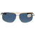 Costa Del Mar Shipmaster Polarized Gray Aviator Sunglasses SMR 126 OGP