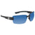 Costa Del Mar Galveston Polarized Blue Mirror Large Fit Sunglasses GV 11 OBMP