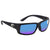 Costa Del Mar Fantail Global Fit Blue Mirror 580P Polarized Wrap Mens Sunglasses TF 11GF OBMP