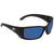Costa Del Mar Blackfin Blue Mirror 580P Rectangular Sunglasses BL 11 OBMP