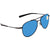Costa Del Mar Cook Blue Mirror 580P Aviator Sunglasses COO 101 OBMP