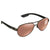 Costa Del Mar Loreto Polarized  Copper Silver Mirror Medium Fit Sunglasses