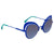 Fendi Eyeshine Blue Gradient Cat Eye Ladies Sunglasses FF 0247/S PJP/GB 54