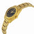 Seiko 5 Automatic Black Dial Gold-tone Ladies Watch SYMK22