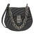 Chloe Drew Bijou Quilted Leather Shoulder Bag- Black