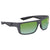 Costa Del Mar Motu Green Mirror Polarized Plastic Rectangular Sunglasses MTU 98 OGMP