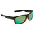 Costa Del Mar Half Moon Green Mirror Polarized Glass Large Fit Sunglasses HFM 181 OGMGLP