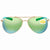 Costa Del Mar Piper Green Mirror 580P Aviator Sunglasses PIP 126 OGMP