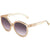Chloe Grey Gradient Round Sunglasses CE738S 643 57