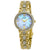 Seiko Solar Crystal White Mother of Pearl Dial Ladies Watch SUP364