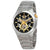 Bulova Maquina Black-Skeleton Dial Automatic Mens Watch 98A224