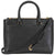 Tory Burch Robinson Small Double-ZIp Tote- Black / Royal Navy