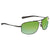 Costa Del Mar Shipmaster Green Mirror Polarized Plastic Aviator Sunglasses SMR 22 OGMP