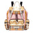 Burberry Archive Scarf Print Medium Rucksack- Stone