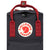 Fjallraven Kanken Mini Kids Backpack- Black-Ox Red