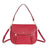 Michael Kors Evie Medium Learher Shoulder Bag- Maroon
