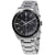 Seiko Solar Chronograph Quartz Grey Dial Mens Watch SSC715