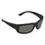 Costa Del Mar Fantail Gray Polarized Glass Rectangular Sunglasses TF 01 OGGLP
