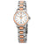 Enicar Royal White Dial Automatic Two Tone Ladies Watch 778/50/317GS