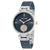 Anne Klein Navy Dial Blue Mesh Ladies Watch 3001BLRT