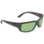 Costa Del Mar Fantail Medium Fit Green Mirror 580P Polarized Rectangular Sunglasses TF 01 OGMP