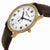 Frederique Constant Slim Line Silver Dial Gold-Plated Unisex Watch 235M4S5