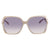 Gucci Violet Gradient Square Ladies Sunglasses GG0505S008