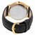 Grovana Moonphase Black Dial Black Leather Mens Watch 1025.1517